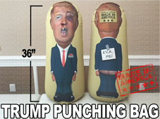 Donald Trump Punching Bag